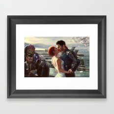 Mass Effect - Wedding Framed Art Print