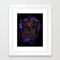 Autobots Abstractness - … Framed Art Print