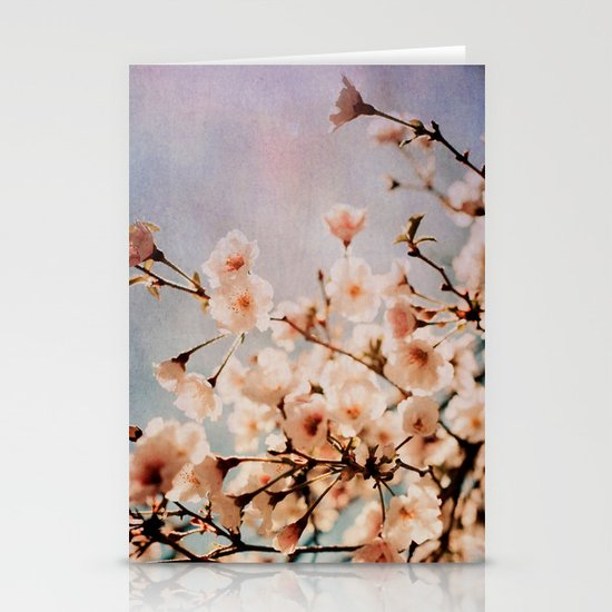 Spring Romance Stationery Card
