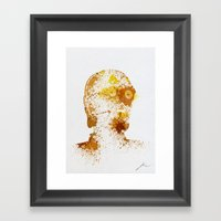 Protocol Droid Framed Art Print