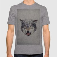 Lobo Mens Fitted Tee Athletic Grey SMALL