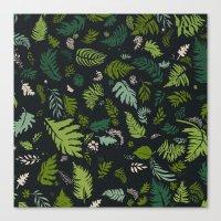 Fern & Foliage  Canvas Print