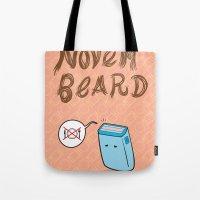 Novembeard Tote Bag