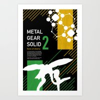 Metal Gear Solid 2: Sons… Art Print