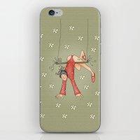 Trapezist iPhone & iPod Skin