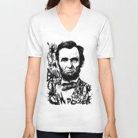 Lincoln A.D. 2012 Unisex V-Neck