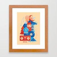 Music Fest' Framed Art Print