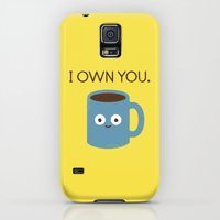 Galaxy S5 Cases featuring Coffee Talk by David Olenick