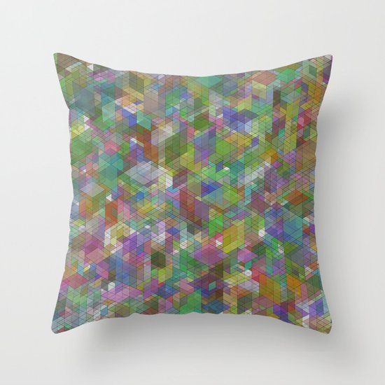 Panelscape - #8 society6 custom generation Throw Pillow
