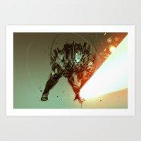 slashdown forge Art Print