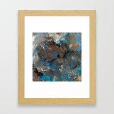 I Sky You Framed Art Print