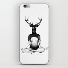 Deer Yoga iPhone & iPod Skin
