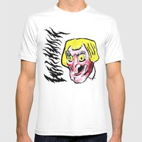 WITCHMASK Mens Fitted Tee White SMALL