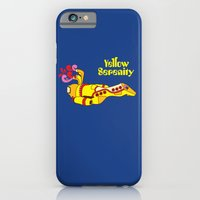 iPhone & iPod Case featuring Yellow Serenity by Kent Zonestar