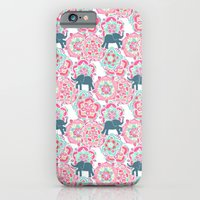 Tiny Elephants In Fields… iPhone 6 Slim Case