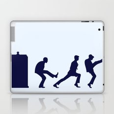 The Tardis of Silly Walks Laptop & iPad Skin