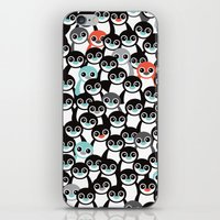 Quirky Penguin Winter Wo… iPhone & iPod Skin