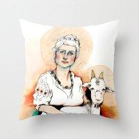Carpicorn (Zodiac Series… Throw Pillow