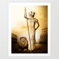 King & Queen Art Print