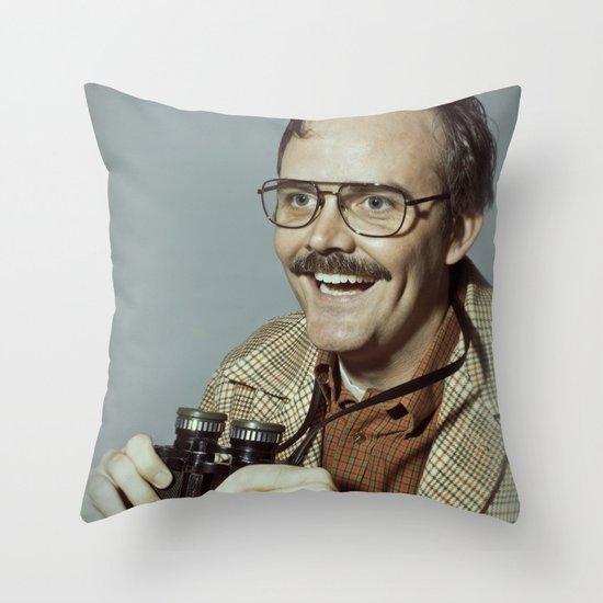 i.am.nerd. :: danforth f. Throw Pillow