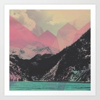 Crystal Pass Art Print
