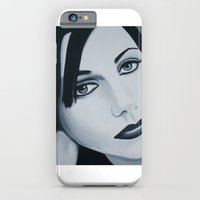 iPhone & iPod Case featuring Polly Jean Muse by ByrneDarkly