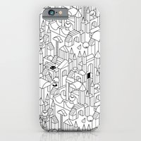 iPhone & iPod Case featuring Little Escher's Building Blocks by Stephen Chan
