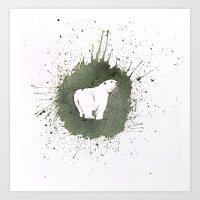 PolarBear Art Print