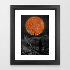 Wrecked Dimension Framed Art Print