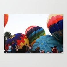 Hot-Air Balloon Canvas Print