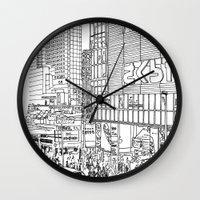 Tokyo - Shinjyuku Wall Clock