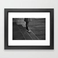 Waiting For Prince Charm… Framed Art Print