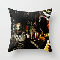 Hide & Seek Throw Pillow