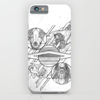 iPhone & iPod Case featuring Ouroboros by Mikah Washed