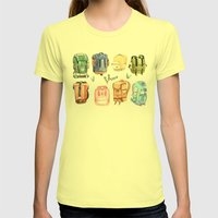 Backpacks Womens Fitted Tee Lemon SMALL
