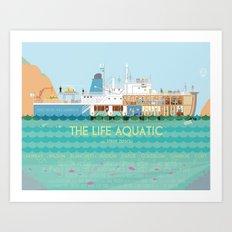 The Life Aquatic Art Print
