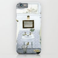 In The Bathroom iPhone 6 Slim Case