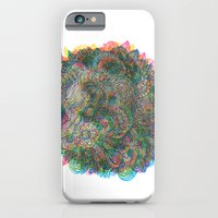 iPhone Cases featuring Hallucinations by Marcelo Romero
