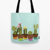 Cacti Gang Tote Bag