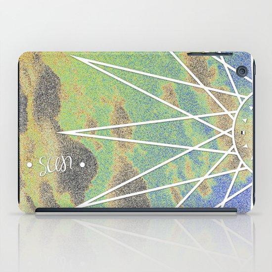 Solarized Burst iPad Case