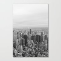 Empire State, New York Canvas Print
