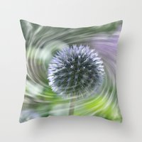 Caught In A Swirl Throw Pillow