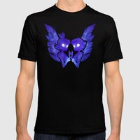 Raven And Crow Mens Fitted Tee Black SMALL
