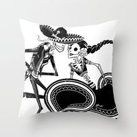 ZAPATEADO Throw Pillow