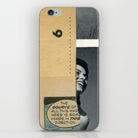 The source of madness iPhone & iPod Skin