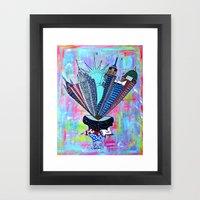 INSPIRE NEW YORK!  Framed Art Print
