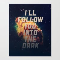 Into The Dark Canvas Print