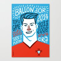 CR7 Canvas Print
