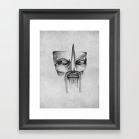 Mad Samurai Framed Art Print