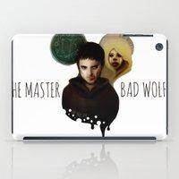The Master & The BadWolf iPad Case